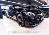 Mercedes C 300 AMG Cabrio - Negro - Piel MArrón -- Auto Exclusive BCN Concesionario Ocasión Mercedes Barcelona-DSC00600