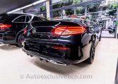 Mercedes C 300 AMG Cabrio - Negro - Piel MArrón -- Auto Exclusive BCN Concesionario Ocasión Mercedes Barcelona-DSC00604