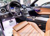 Mercedes C 300 AMG Cabrio - Negro - Piel MArrón -- Auto Exclusive BCN Concesionario Ocasión Mercedes Barcelona-DSC00609