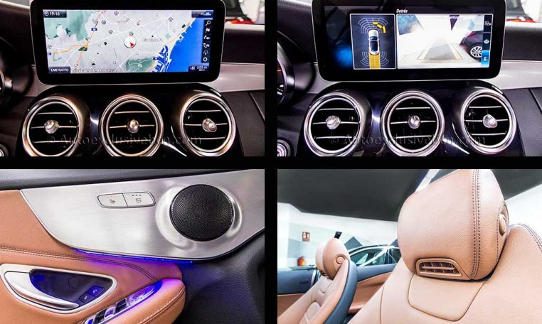 Mercedes C 300 Cabrio AMG - Blanco - Piel Marrón - 3 - Auto Exclusive BCN-4xdetalles