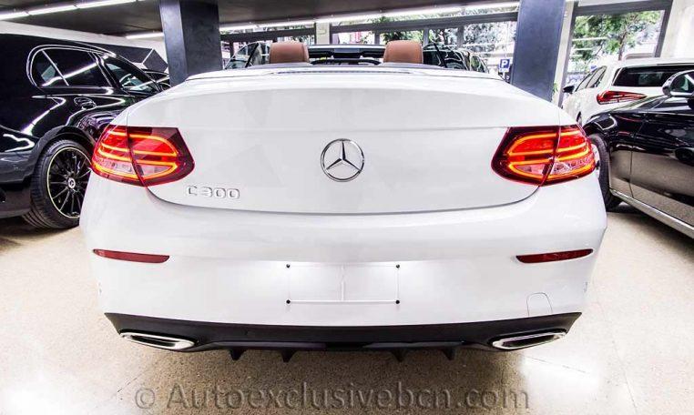 Mercedes C 300 Cabrio AMG - Blanco - Piel Marrón - 3 - Auto Exclusive BCN-DSC00494