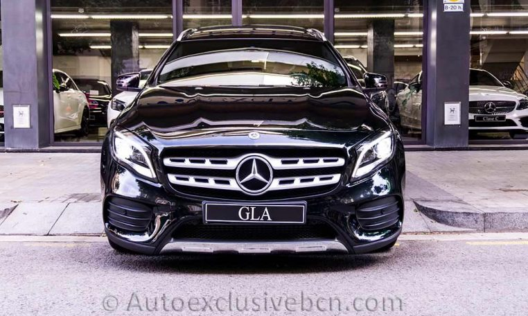 Mercedes GLA 250 4M AMG - Negro - Auto Exclusive BCN - Concesionario Ocasión Mercedes Barcelona -DSC00519