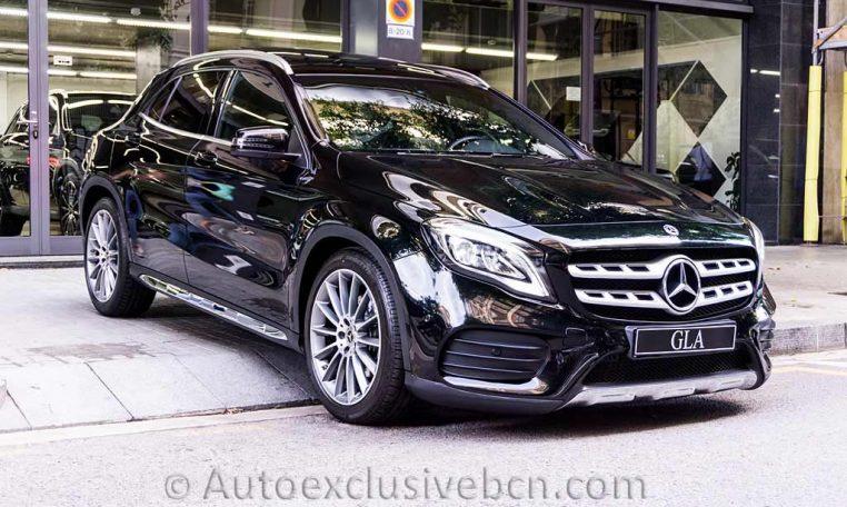 Mercedes GLA 250 4M AMG - Negro - Auto Exclusive BCN - Concesionario Ocasión Mercedes Barcelona -DSC00526