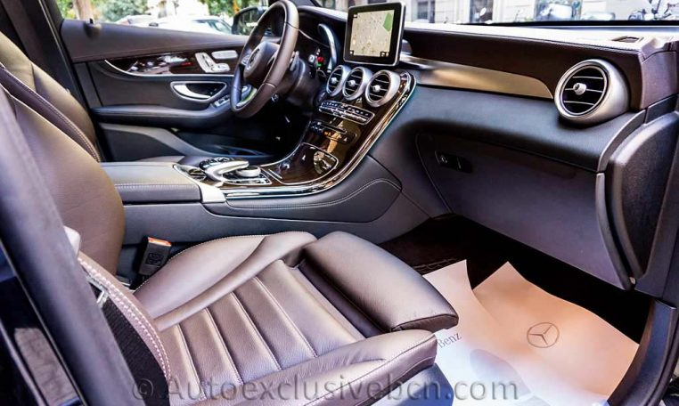 Mercedes GLC 250 4M AMG - Piel Marrón - Auto Exclusive BCN -DSC00689