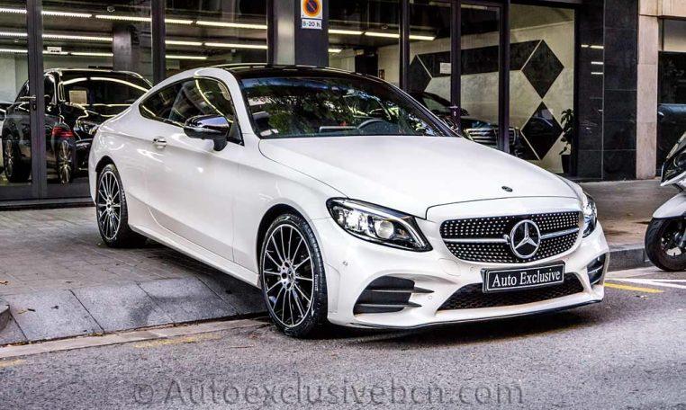 Mercedes C 300 Coupè AMG - Blanco Diamante - Auto Exclusive BCN -DSC00769
