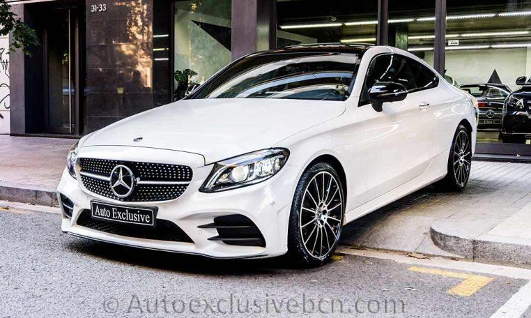 Mercedes C 300 Coupè AMG - Blanco Diamante - Auto Exclusive BCN -DSC00774Mercedes C 300 Coupè AMG - Blanco Diamante - Auto Exclusive BCN -DSC00774