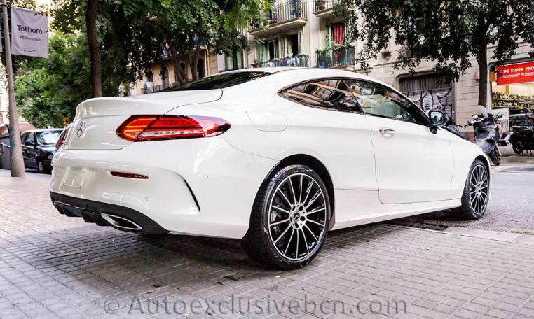 Mercedes C 300 Coupè AMG - Blanco Diamante - Auto Exclusive BCN -DSC00777