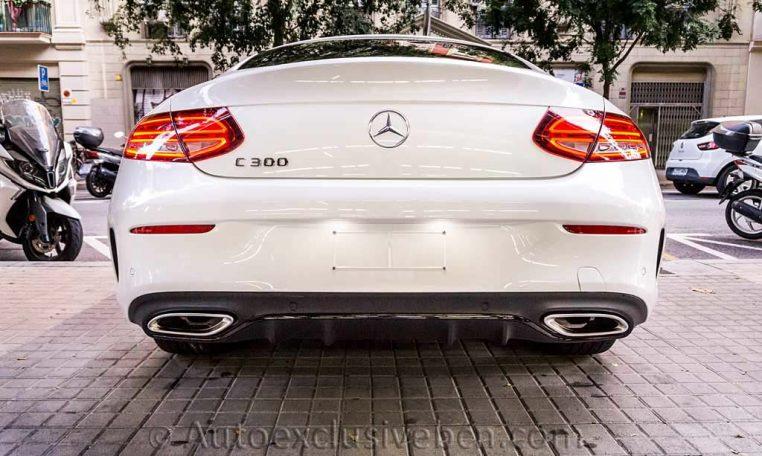Mercedes C 300 Coupè AMG - Blanco Diamante - Auto Exclusive BCN -DSC00780