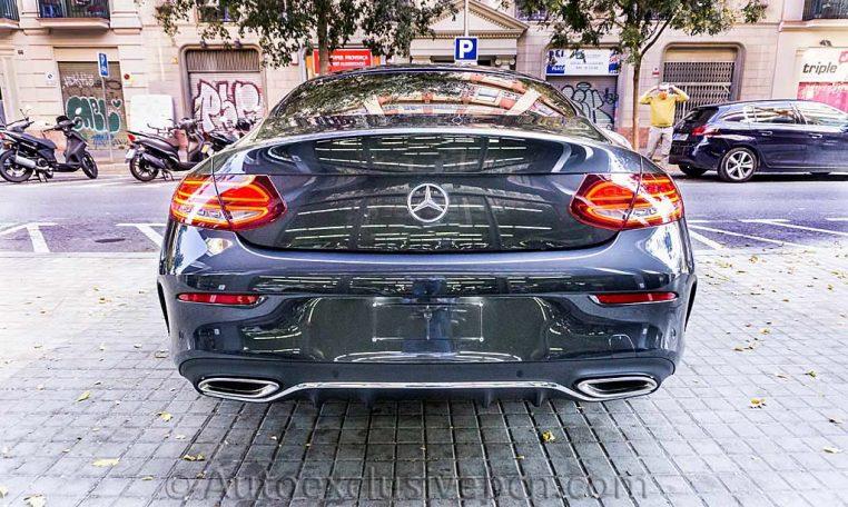 Mercedes C 300 Coupe AMG - Gris Grafito - Auto Exclusive BCN - DSC01086