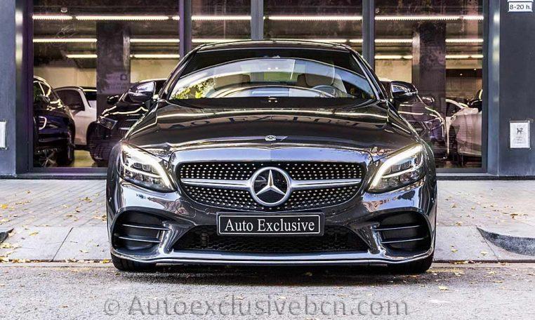 Mercedes C 300 Coupe AMG - Gris Grafito - Auto Exclusive BCN - DSC01105