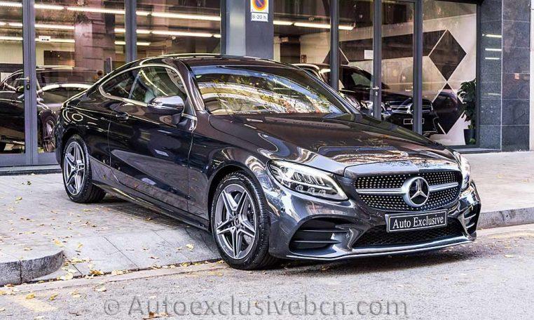 Mercedes C 300 Coupe AMG - Gris Grafito - Auto Exclusive BCN - DSC01107