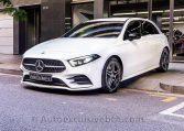 Mercedes A 250 AMG - Blanco - Piel - Auto Exclusive BCN - Concesionario Ocasión Mercedes Benz en Barcelona-DSC00351