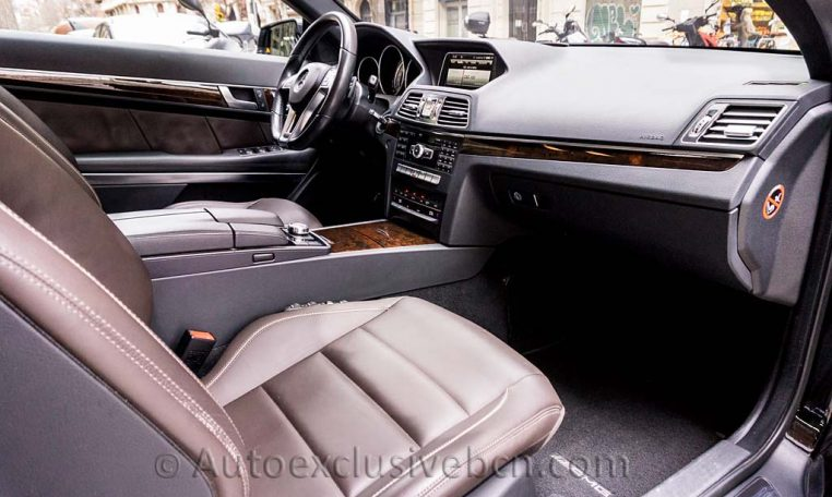 E 350 BT Coupè AMG - Negro -Auto Exclusive BCN - DSC01832
