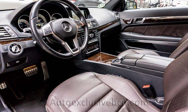 E 350 BT Coupè AMG - Negro -Auto Exclusive BCN - DSC01835