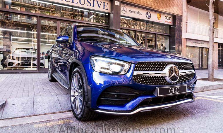 Mercedes GLC 300d AMG - Azul Brilante - Auto Exclusive BCN - DSC01575